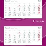 kalendarz 2015 a&s jujka