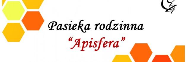 """Reklama dla pasieki rodzinnej """"Apisfera"""""""